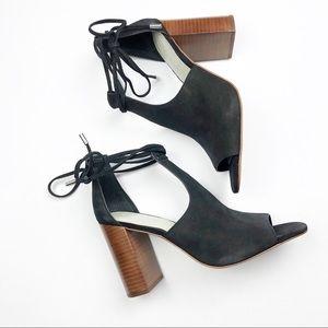 1. State Tilya Bootie Profile Sandal Block Heel